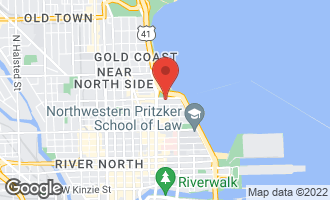 Map of 179 East Lake Shore Drive #1003 CHICAGO, IL 60611