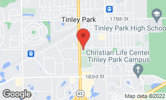 Map of 17903 South Harlem Avenue TINLEY PARK, IL 60477