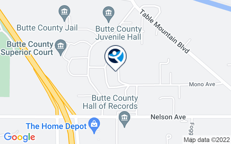 Butte County Behavioral Health - Adult Services Location and Directions
