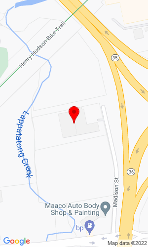 Google Map of SEMCOR Equipment Corporation 18 Madison Street , Keyport, NJ, 7735