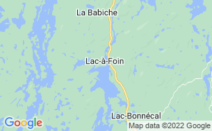 Map of Domaine Havre Des Sables