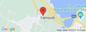 Google Map of 18+Falmouth+Back+Road%2CWindsor%2CNova+Scotia+B0P+1L0
