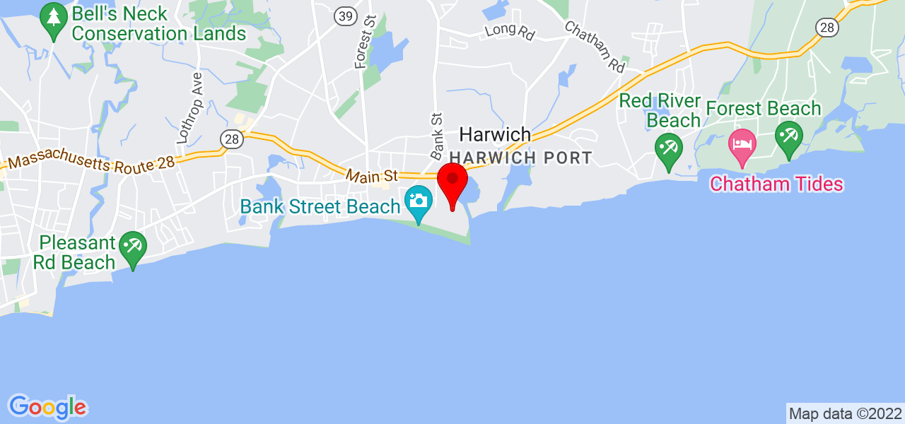 Google Map of 18 Snow Inn Road Harwich Port MA