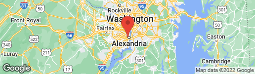 Map of 18 SUNSET DRIVE ALEXANDRIA, VA 22301