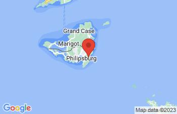 Map of Guana Bay Beach
