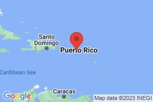 Map of Virgin Islands