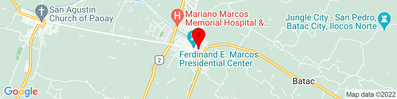 Google Map of 18.054283333333334, 120.56503611111111