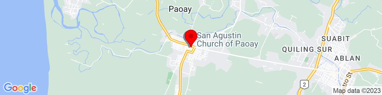 Google Map of 18.06163888888889, 120.52154166666666