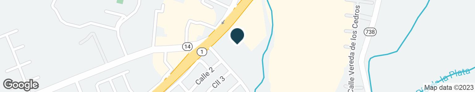 Google Map of5800 AVE JESUS T PINERO