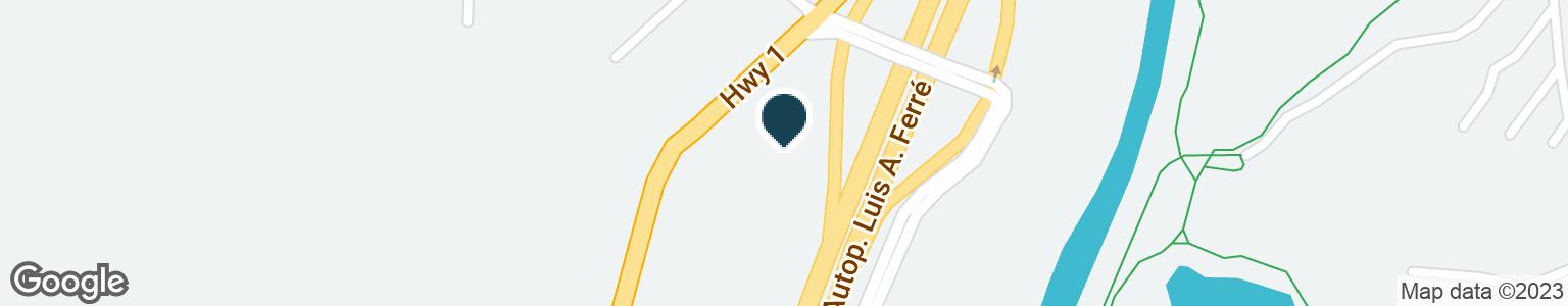 Google Map of500 CARRETERA 1 URB ALTOS DE LA FUENTE