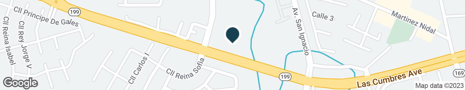 Google Map of35 CALLE JUAN C BORBON