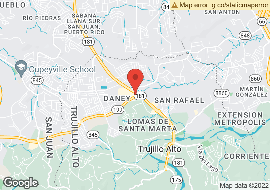 Google Map of PR 181 & PR 850