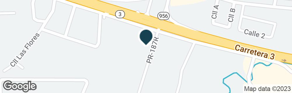 Google Map ofCARR 3, KM 23.9