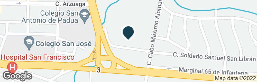 Google Map of65 INFANTERIA SHOPPING CTR SUITE 101