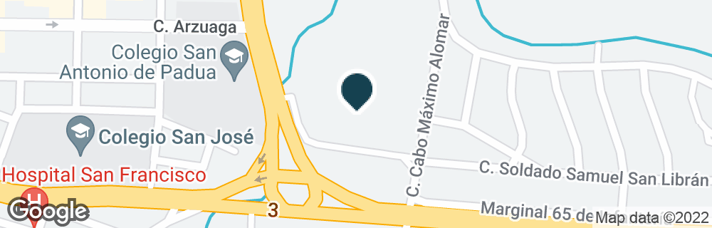 Google Map of65 INFANTERIA SHOPPING CTR