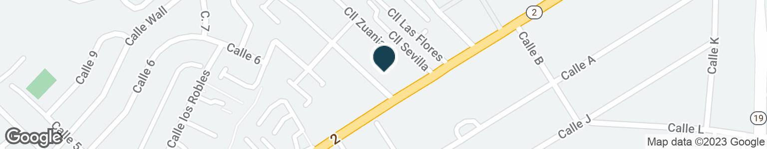 Google Map of#184 CARRETERA #2, VILLA CAPARRA