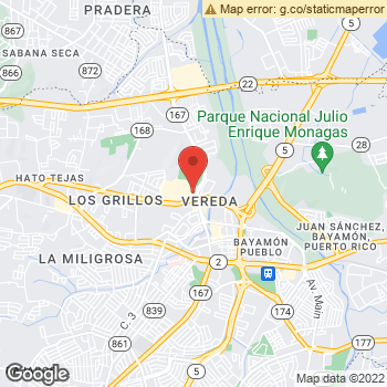 Map of American Eagle Outfitters at 725 West Main Ave, Bayamon, Puerto Rico 00961