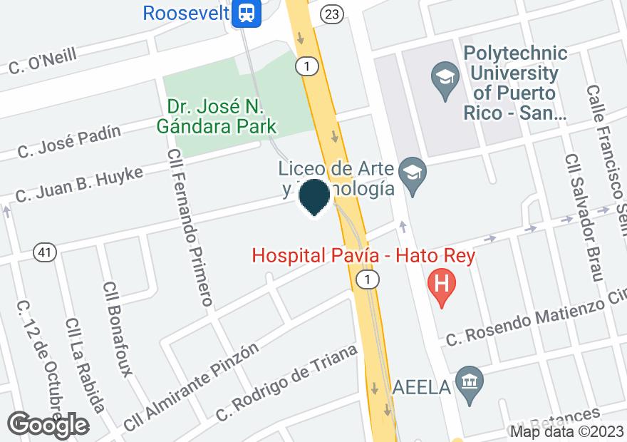 Google Map of400 AVE MUNOZ RIVERA