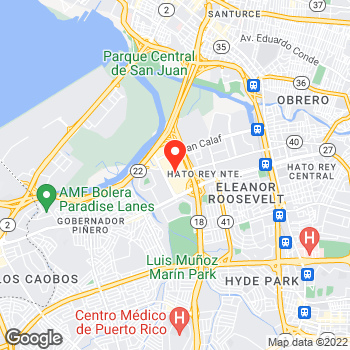 Map of Ann Taylor at 525 Fd Roosevelt Avenue, San Juan, PR 00918