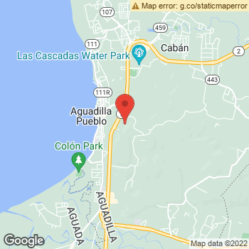 Map of Dr. Karen Montalvo, Optometrist, and Associates - Aguadilla Mall at 15005 Ave Los Corazones, Aguadilla, PR 00605