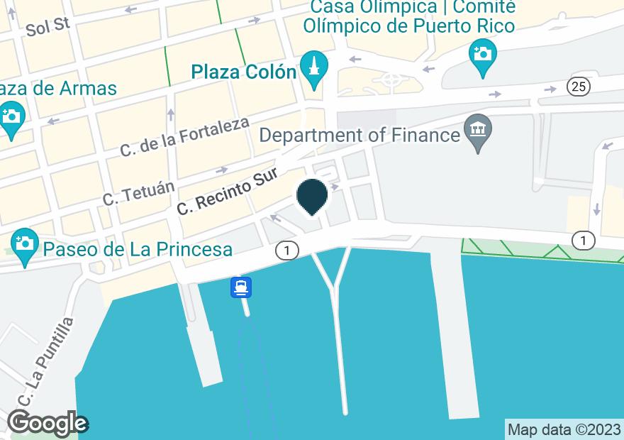 Google Map of100 CALLE BRUMBAUGH