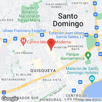 Map of Salvatore Ferragamo at Av. Winston Churcill, Santo Domingo, Distrito Nacional 10700