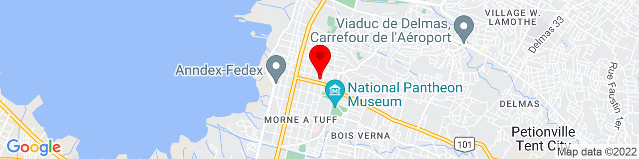 Google Map of 18.547327, -72.3395928