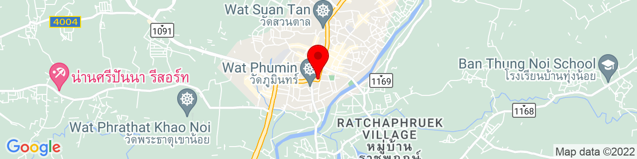 Google Map of 18.7756318, 100.7730417