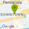 Google Map of 180 N Palafox St+Pensacola+FL+32502
