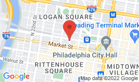 Map of Philadelphia