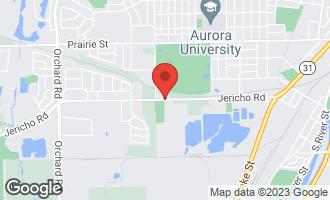 Map of 1800 Jericho Road AURORA, IL 60506