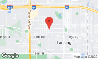 Map of 18013 Wildwood Avenue LANSING, IL 60438