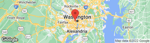 Map of 1802 21ST STREET N ARLINGTON, VA 22209