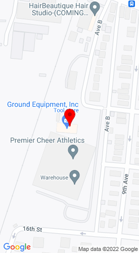 Google Map of Ground Equipment 1805 Avenue B, Watervliet, NY, 12189