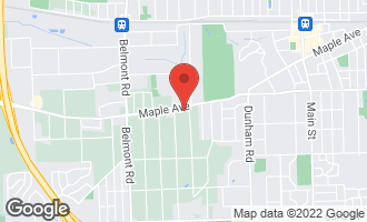 Map of 1805 Maple Avenue DOWNERS GROVE, IL 60515