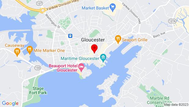 Google Map of 180B Main Street, Gloucester, MA 01930