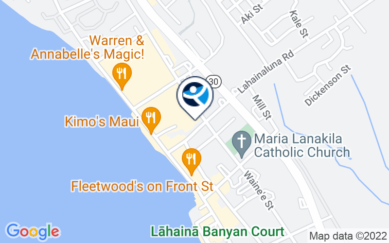 Maui Therapy Location and Directions