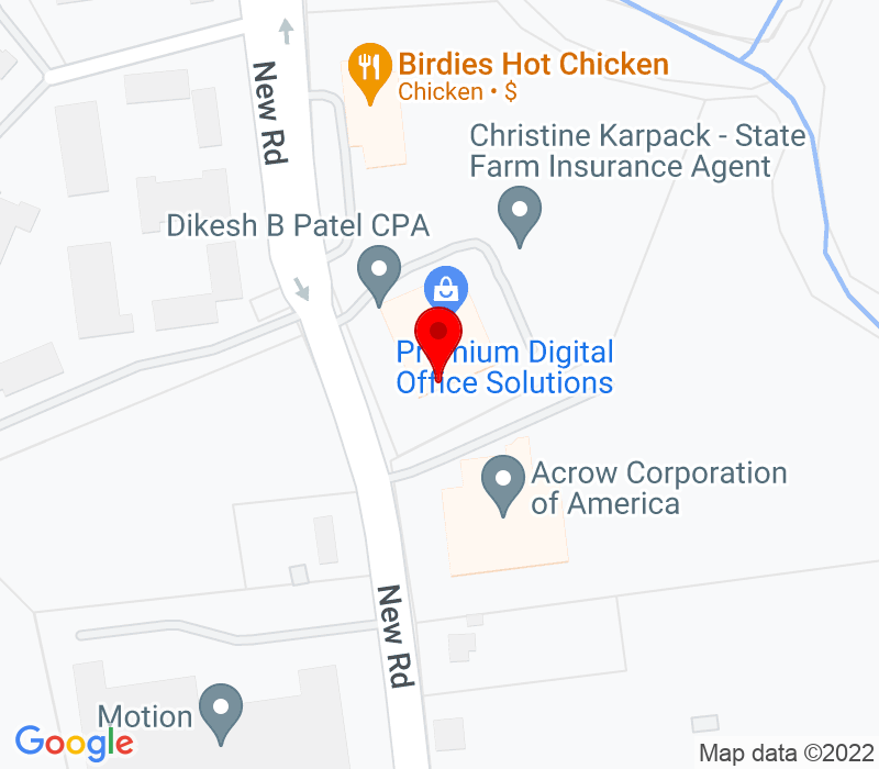 Click to view Google maps office address 181 New Road, Suite 304, Parsippany, NJ 07054