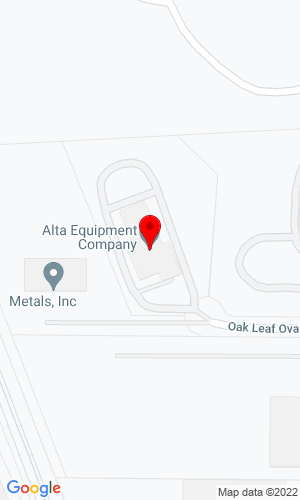 Google Map of Gibson Machinery, LLC 181 Oak Leaf Oval, Bedford (Cleveland), OH, 44146