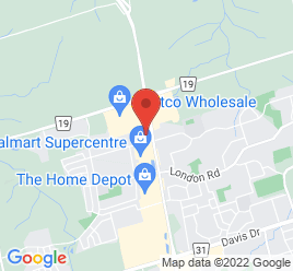 Google Map of 18100+Yonge+Street%2CNewmarket%2COntario+L3Y+8V1