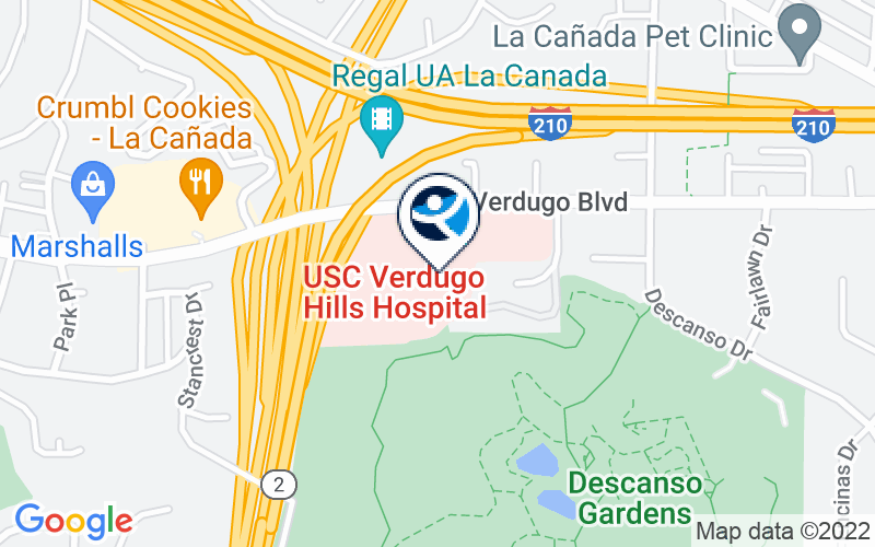 Verdugo Hills Hospital Location and Directions
