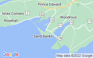 Map of Sandbanks Beach Resort