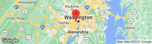 Map of 1818 21ST STREET N ARLINGTON, VA 22209