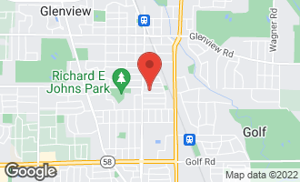 Map of 1820 George Court GLENVIEW, IL 60025