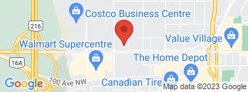 Google Map of 18208+Stony+Plain+Road%2CEdmonton%2CAlberta+T5S+1A7