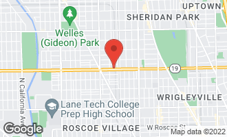 Map of 1822 West Irving Park Road #304 CHICAGO, IL 60613