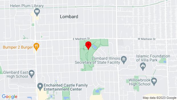 Google Map of 1825 Short Street, Lombard, IL 60148