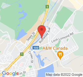 Google Map of 183+Rothesay+Avenue%2CSaint+John%2CNew+Brunswick+E2L+3T5