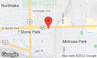 Map of 1830 North 32nd Avenue #5 STONE PARK, IL 60165