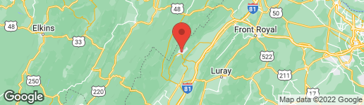 Map of 1836 FAIRWAY DRIVE #227 BASYE, VA 22810